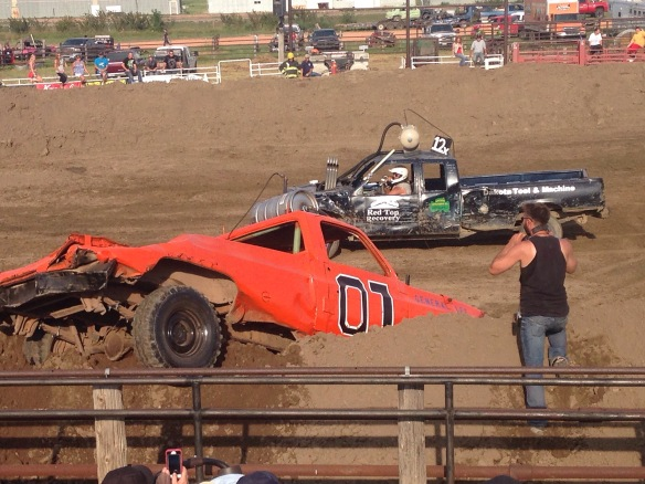 McKenzie County Demolition Derby
