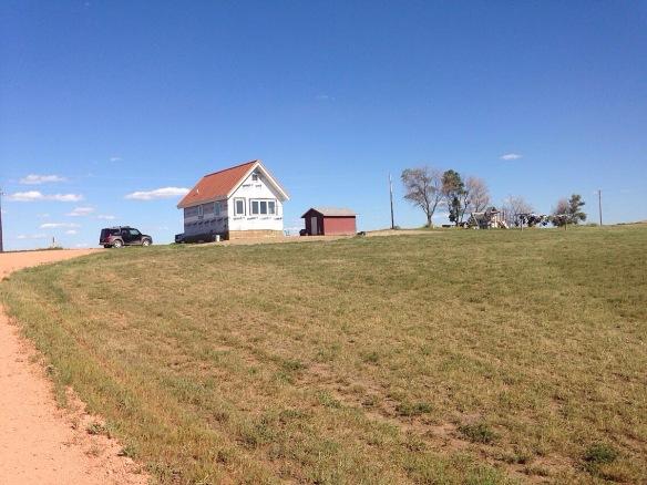 homestead in North Dakota