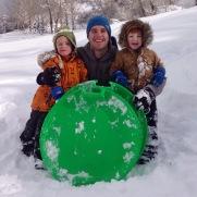 Sledding in Utah!